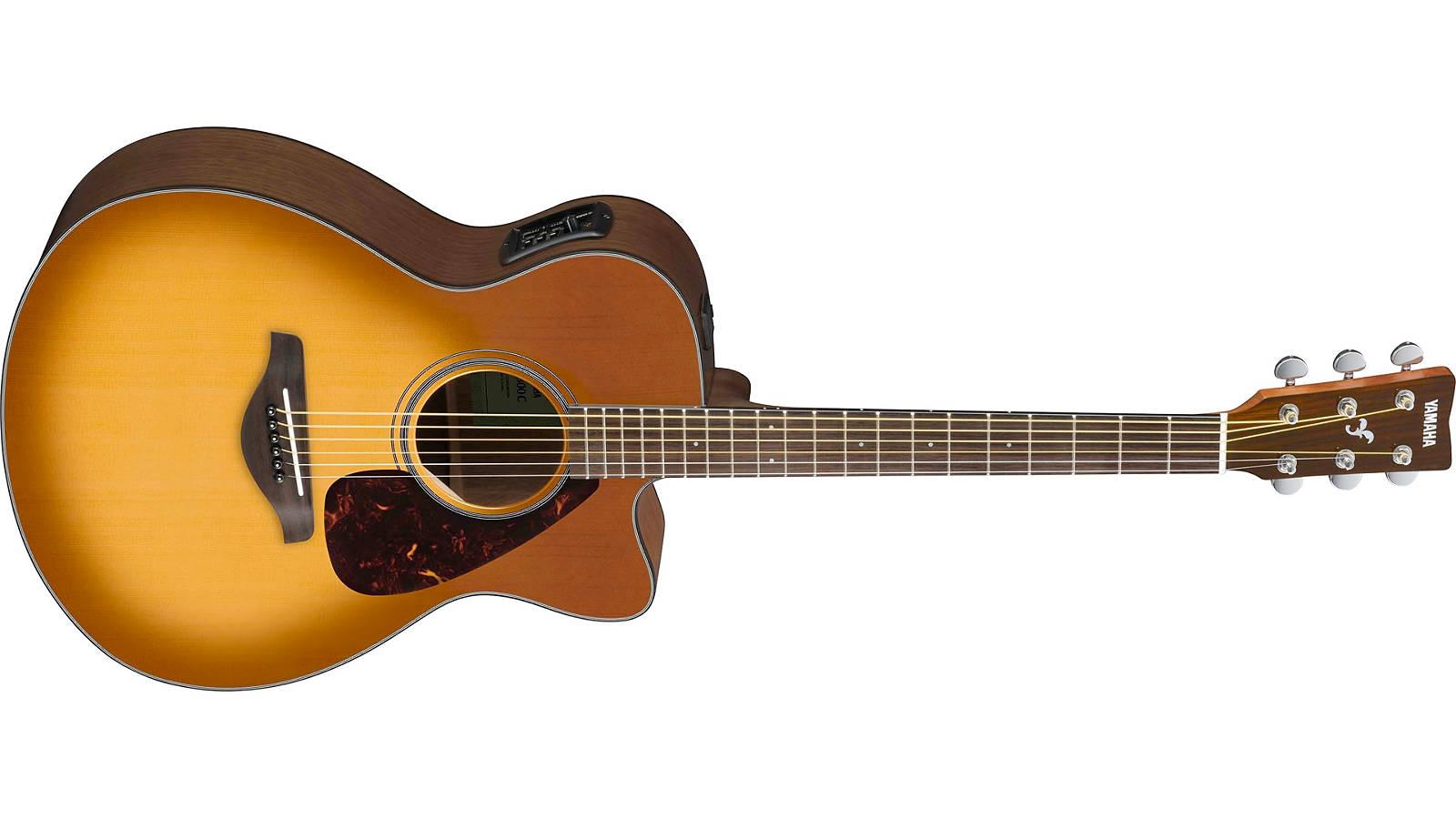 Yamaha FSX800C SDB Westerngitarre Sand Burst