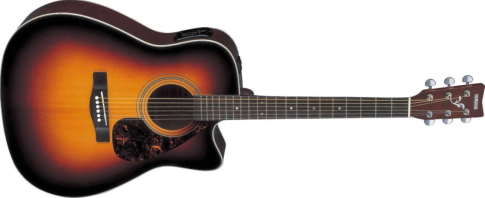 Yamaha FX-370 C TBS Akustik Gitarre Dreadnought