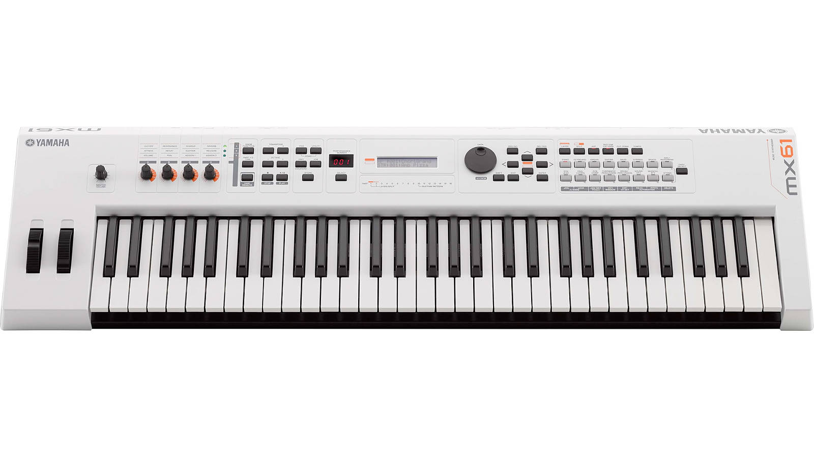 Yamaha MX61II WH Synthesizer White limited