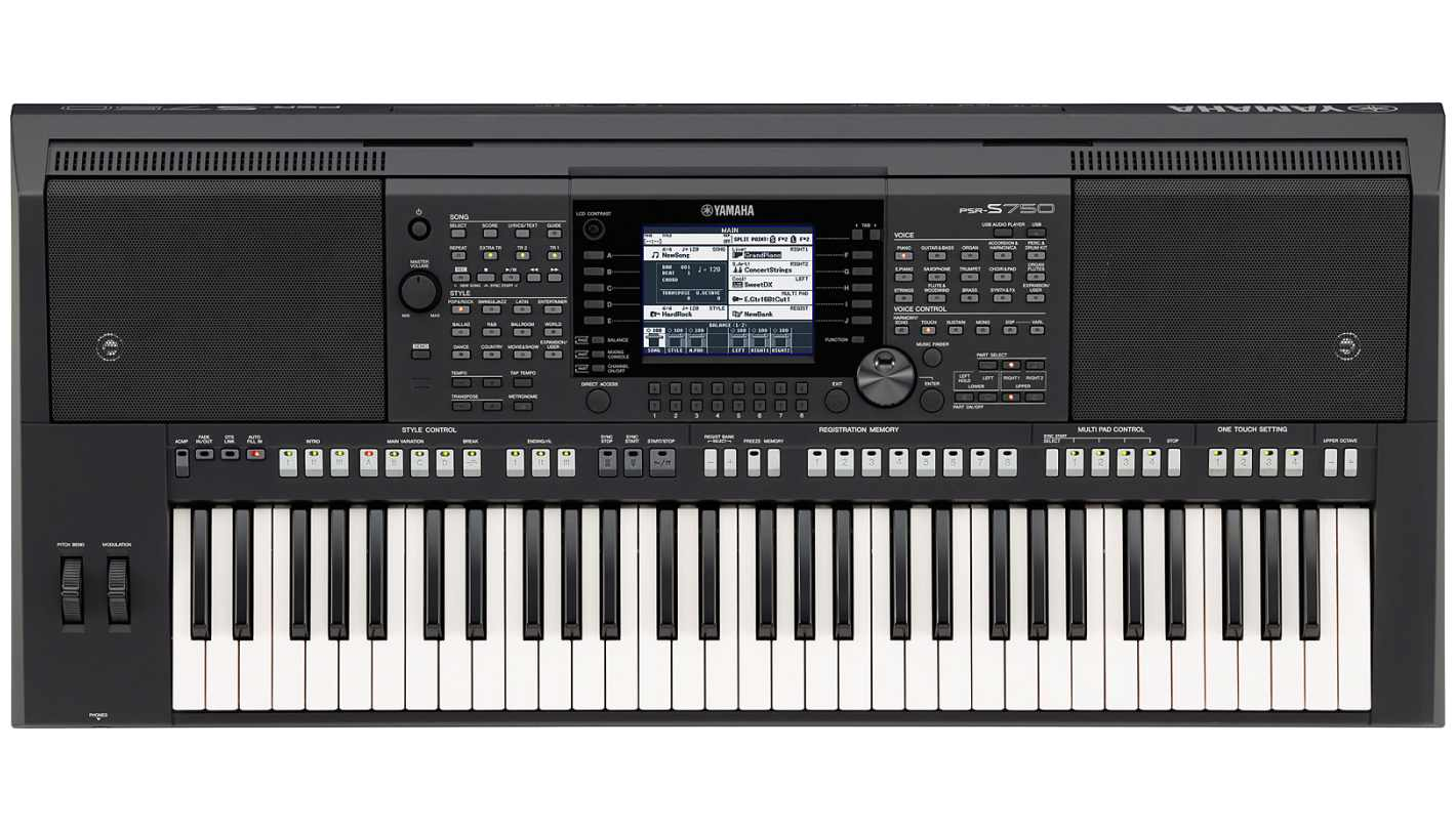 yamaha psr s750 keyboard. Black Bedroom Furniture Sets. Home Design Ideas