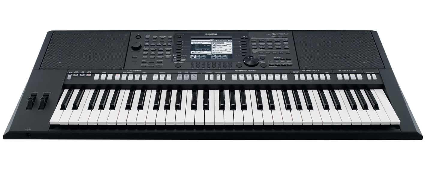 Yamaha psr s750 keyboard for Yamaha psr s