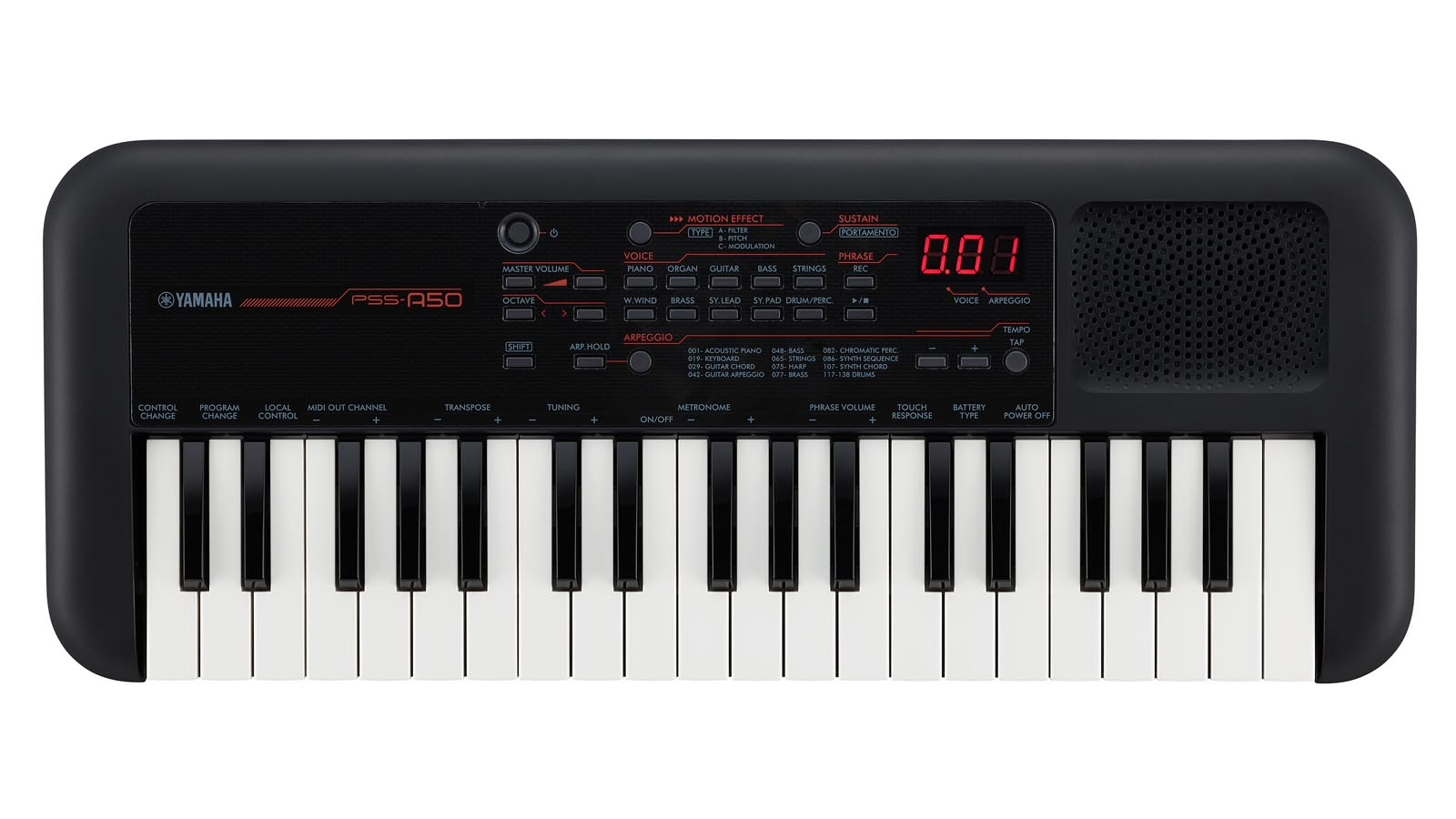 Yamaha PSS-A50 Mini Keyboard