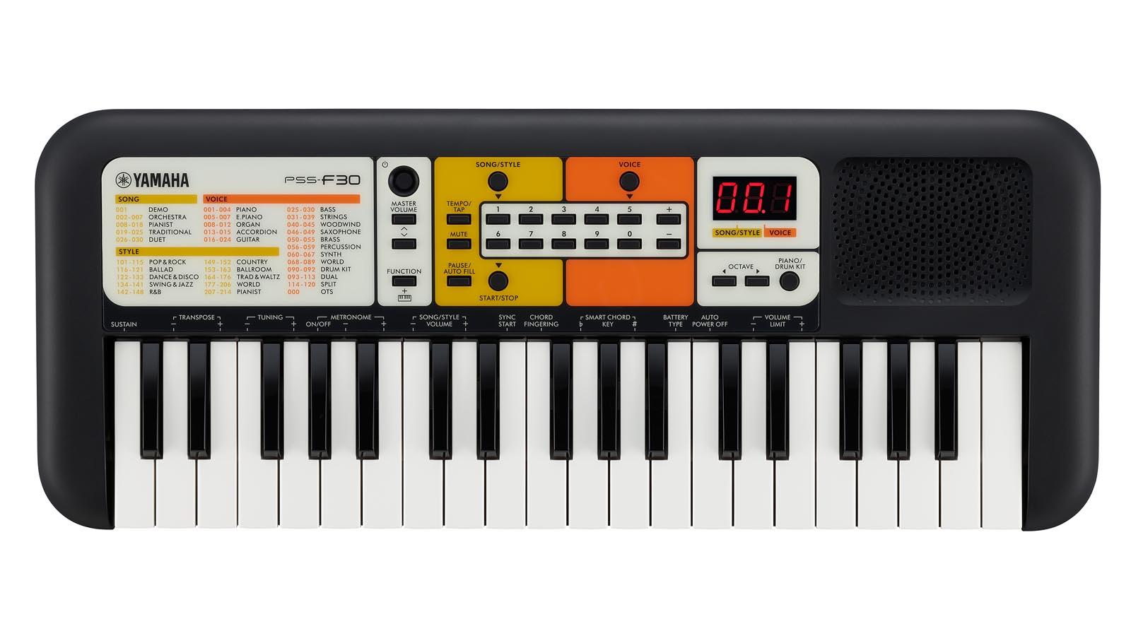 Yamaha PSS-F30 Mini Kinder Keyboard