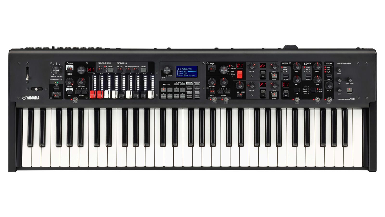 Yamaha YC61 Zugriegel - Orgel Waterfall