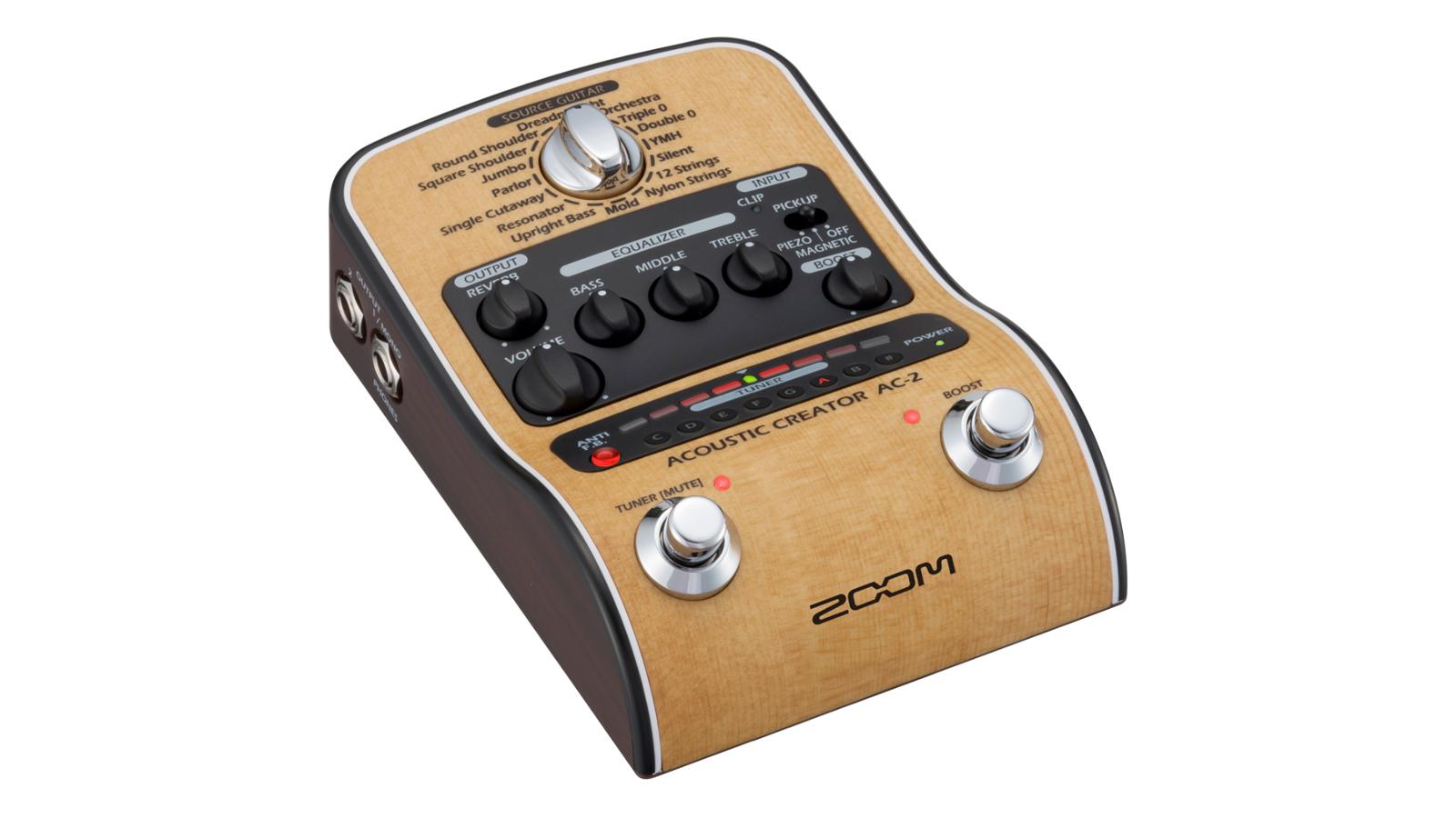 Zoom AC-2 Akustik Effektpedal