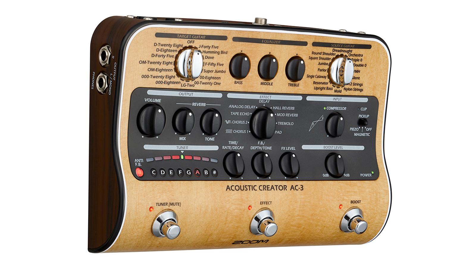 Zoom AC-3 Akustik Effektpedal