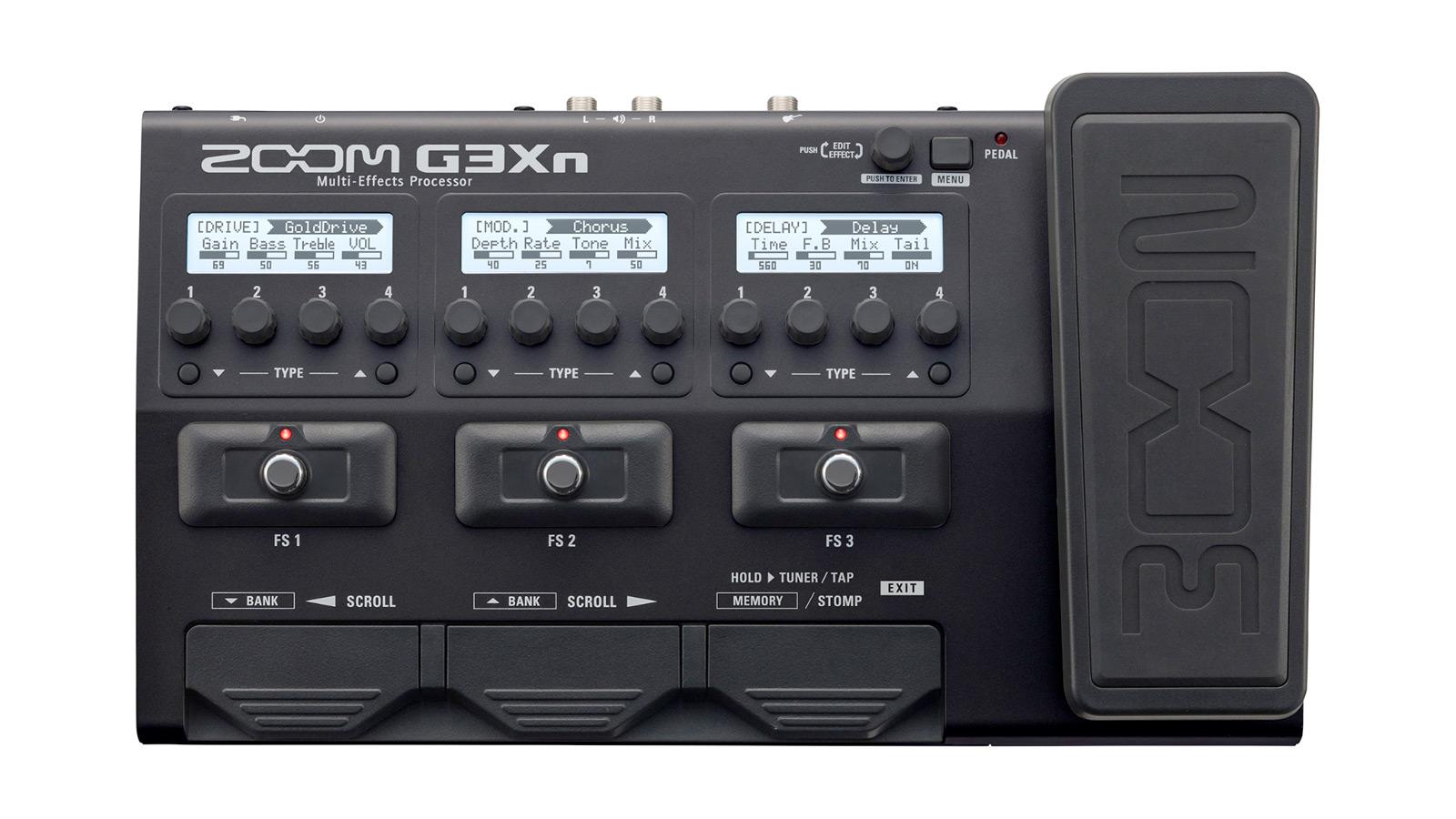 Zoom G3Xn Gitarren MultiEffekt
