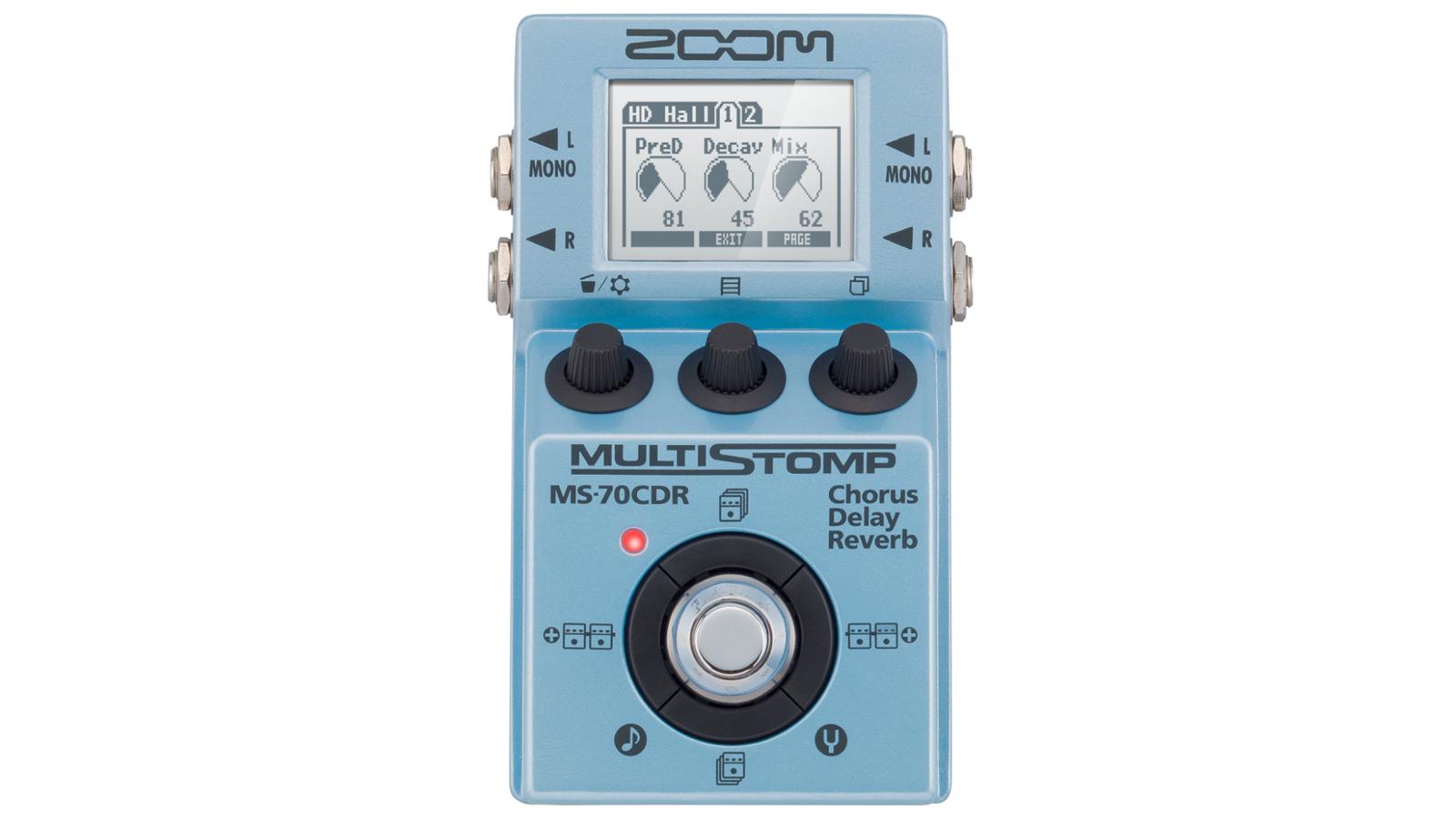 Zoom MS-70CDR Gitarren MultiEffekt