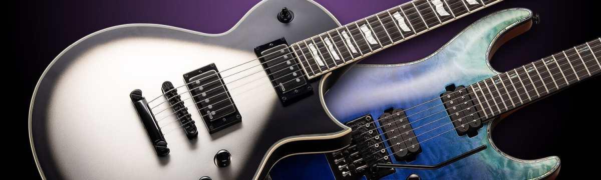 ESP LTD News Neuheiten E-Gitarren Bässe