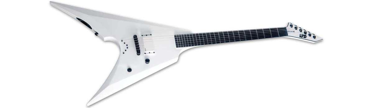 ESP LTD neuheit news e-gitarren ARROW-NT Arctic Metal SW