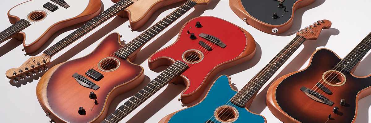 Fender Acoustasonic strtocaster telecaster