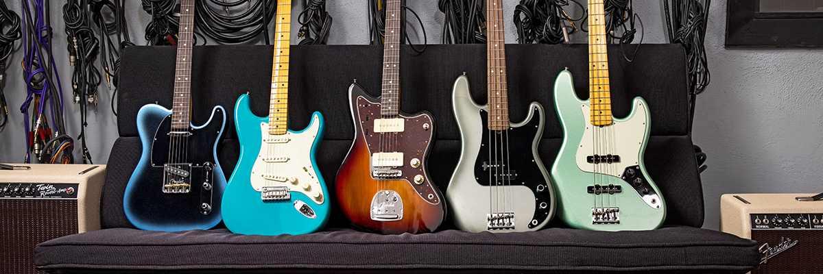 Fender american professionell II Series