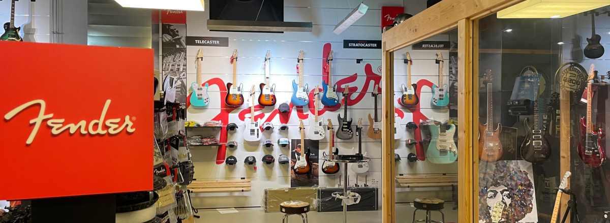 Fender Gitarren bei J&M Musikland