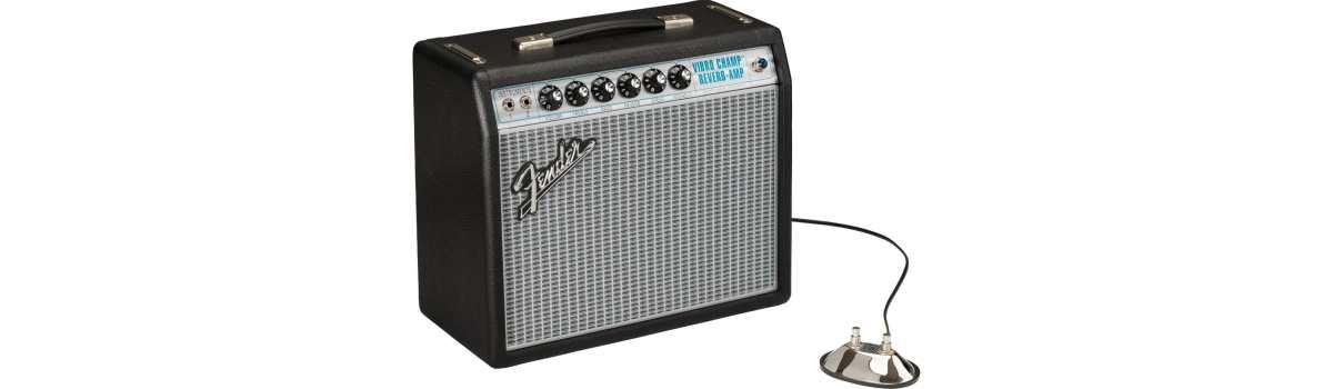 Fender news neuheiten E-Gitarrenverstärker Amps Fender 68 Custom Vibro Champ
