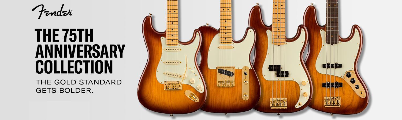 Fender 75th Anniversary Commemorative Stratocaster telecaster jubiläum