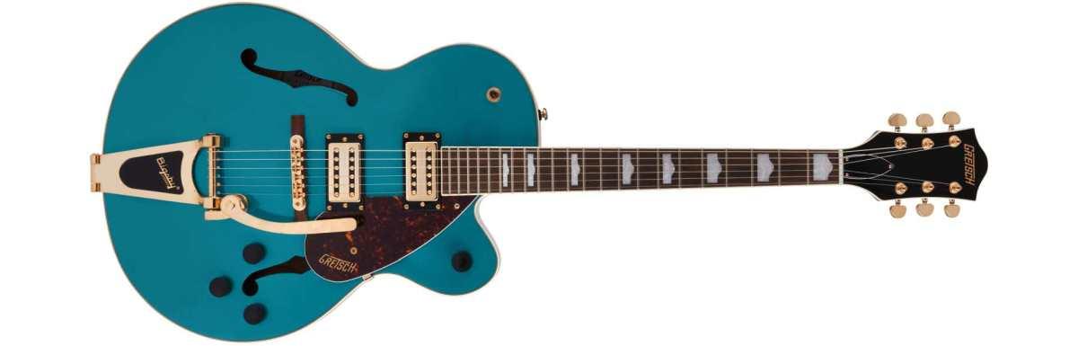 Gretsch Guitar G2410TG Streamliner Hollow Body Single-Cut E-Gitarre mit Bigsby