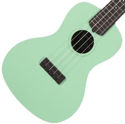 Kala Waterman Concert green matte black side