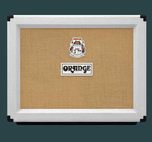 Orange PPC212OB White Ltd Edition Open Back
