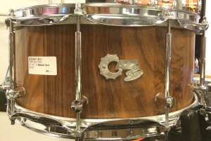 "Cazz-Snare 14"" x 6"" Nußbaum Snare"