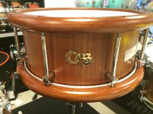 "Cazz-Snare 13"" x 6"" Kotibe Snare Woodhoop"