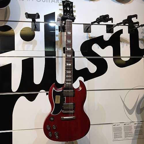 Gibson Custom Shop 2016 Historic SG Standard Faded Cherry LEFTHAND