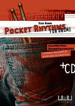 Pocket Rhythms for Drums inkl. CD