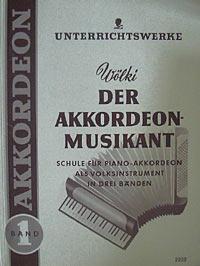 Der Akkordeon-Musikant