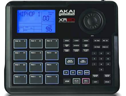 Akai XR-20 Drumcomputer Leuchtpads