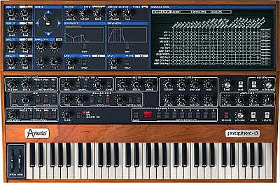 Arturia Prophet V Software virtueller Synthesizer