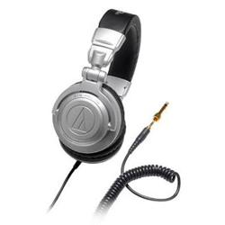 Audio Technica ATH-PRO500 SV DJ-Kopfhörer Silver