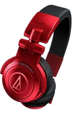 Audio Technica ATH-PRO500MK2 DJ-Kopfhörer Red