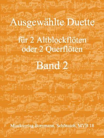 Ausgewählte Duette für 2 Alt F oder Querflöte