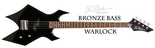 B.C.Rich Warlock Bass Bronce