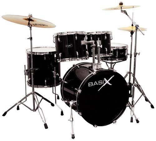 Basix Oxygen OX 209 BK Drumset Black