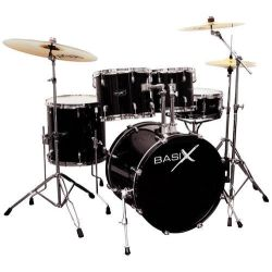 Basix Oxygen OX109 BK Drumset