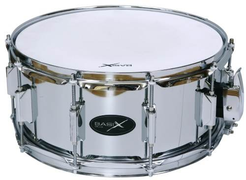 "Basix Snare 14"" x 6,5"" Stahl"
