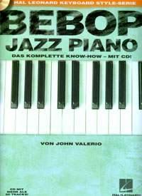 Bebop Jazz Piano (dt.), John Valerio