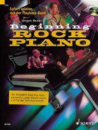 Beginning ROCK PIANO - Moser, Jürgen
