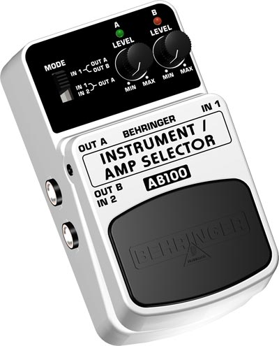 Behringer AB-100 Switchbox/Amp Selector