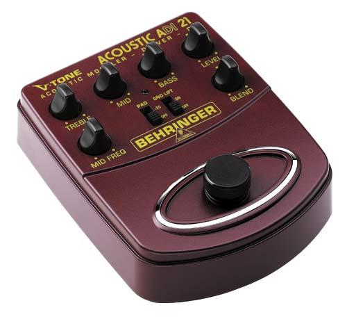 Behringer ADI-21 V-TONE ACOUSTIC-Amp Modeler