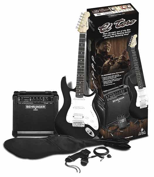Behringer El Toro Guitar Pack