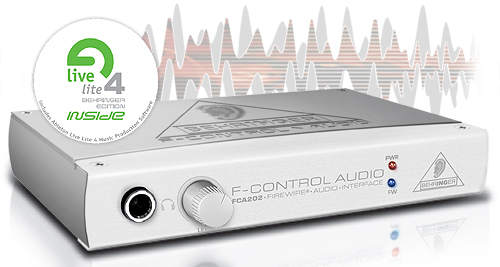 Behringer FCA-202 F-Control Firewire Audiointerface