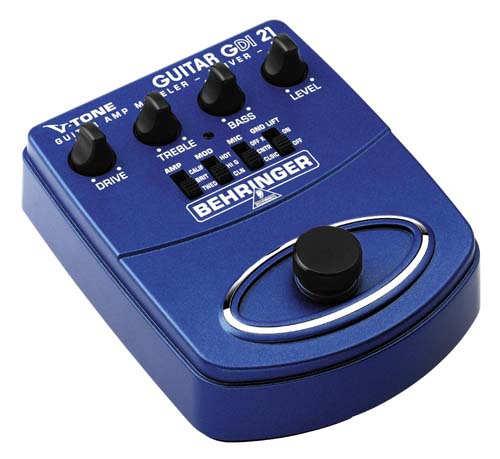 Behringer GDI-21 V-TONE Gitarren-Amp Modeler