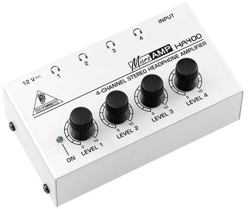 Behringer HA-400 Kopfhörerverstärker MICROAMP