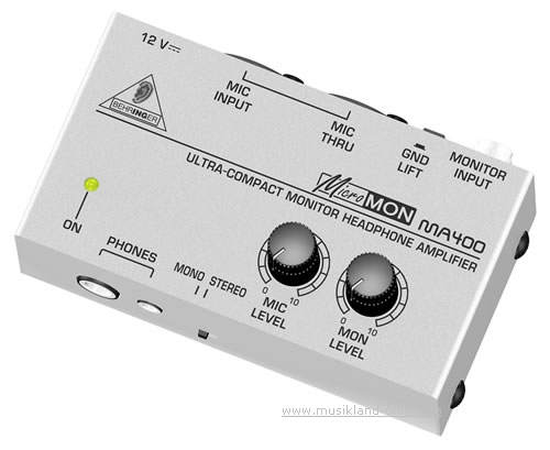 Behringer MA-400 MICROMON Monitor Kopfhörerverstärker