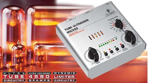 Behringer MIC-200 Tube Ultragain