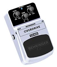 Behringer OD-400 Overdrive Bodeneffekt