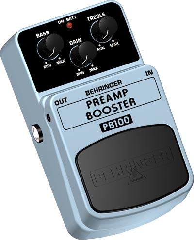 Behringer PB-100 PREAMP BOOSTER