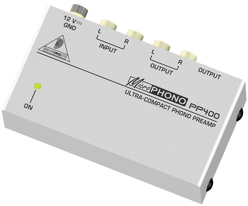 Behringer PP-400 MICROPHONO Phono-Vorverstärker