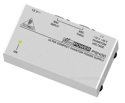 Behringer PS-400 Phantomspeisungs-Adapter